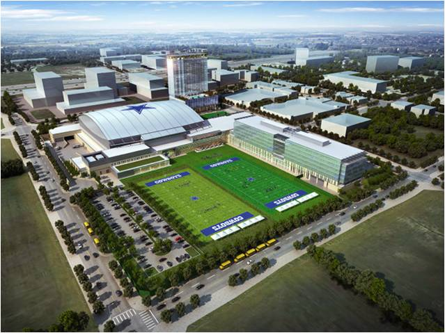 Dallas Cowboys Pactice Facility Public Safety DAS Installation