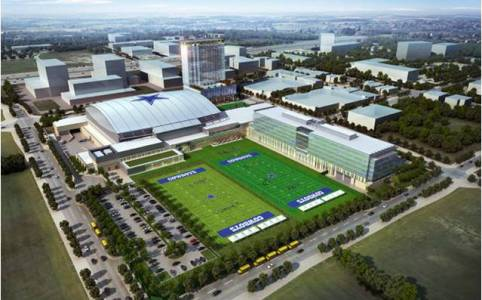 Dallas Cowboys World Headquarters DAS