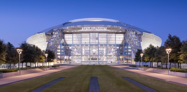 Distributed Antenna System DAS Installation At NRG Park And Stadium