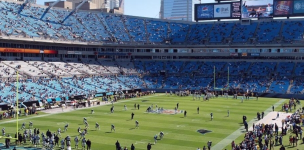 DAS Project at Carolina Panthers Stadium
