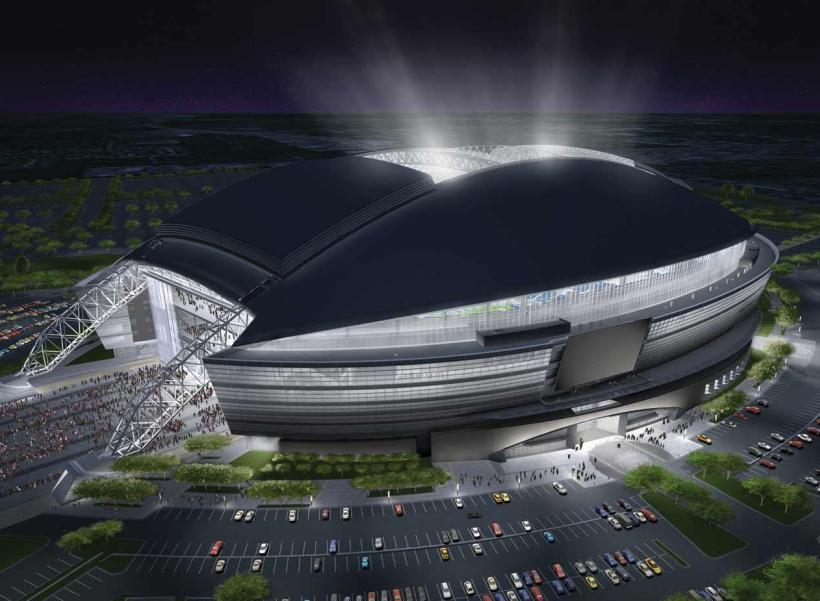 AT&T Dallas Cowboys Stadium uses DAS to improve communication