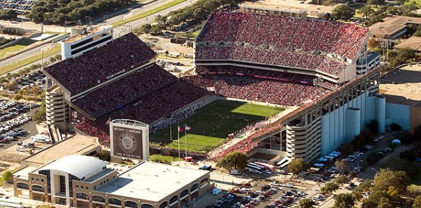 Kyle Field DAS Installation