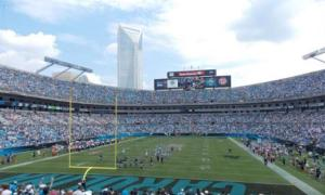 Carolina Panthers Bank of America Stadium DAS installation